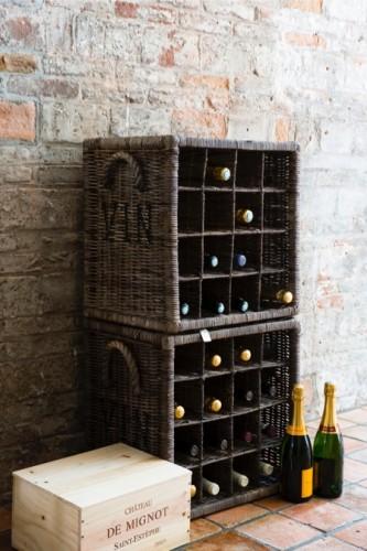 Mooie wijnrekken