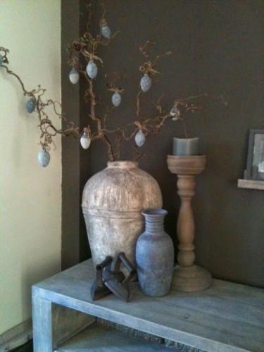 10x paastak inspiratie de wemelaer for Decoratie op dressoir