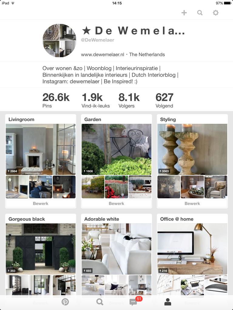 5 persoonlijke Pinterest favorieten