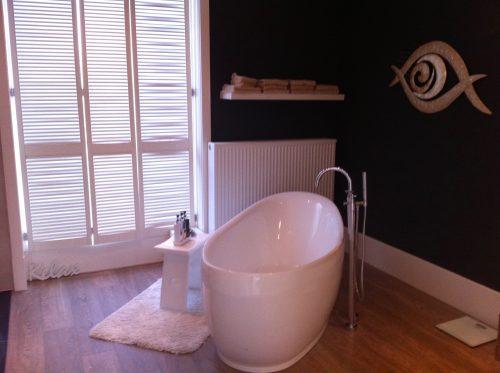 Shutters badkamer