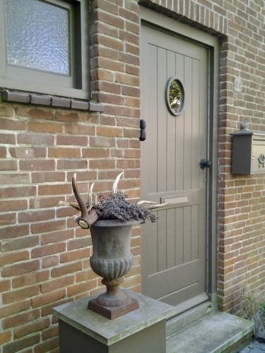 Voordeur landelijke stijl