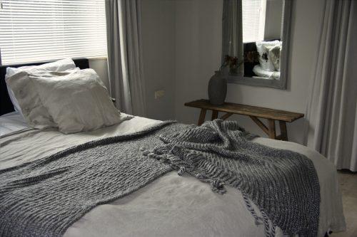 Slaapkamer landelijk sober stoer