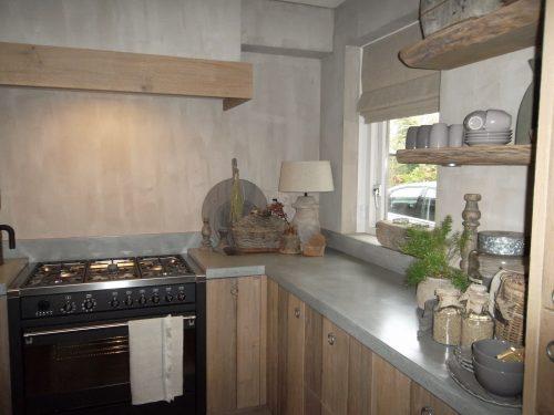 Keuken sobere landelijke stijl
