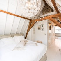 Slaapkamer landelijk licht