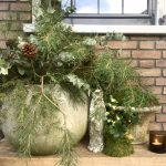 Stylen op De Wemelaer deel 12: kerst bij de voordeur