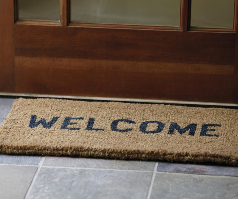 Deurmat welkom