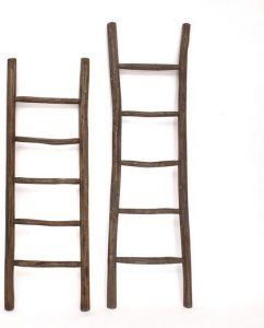 Houten decoratie ladder bol.com