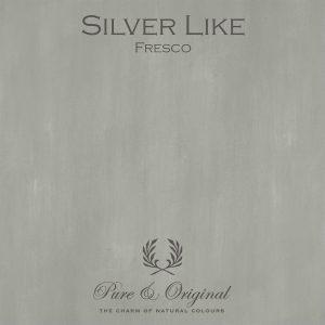 Pure & Original Fresco Kalkverf Silver Like bol.com